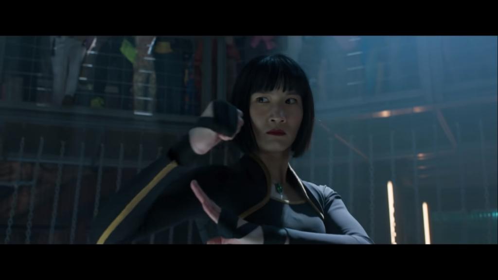 Xialing, irmã de shang chi em ação