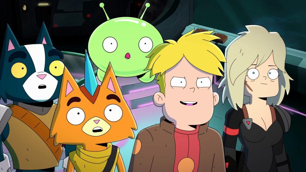 Final space: temporada 3 - lançamentos da netflix