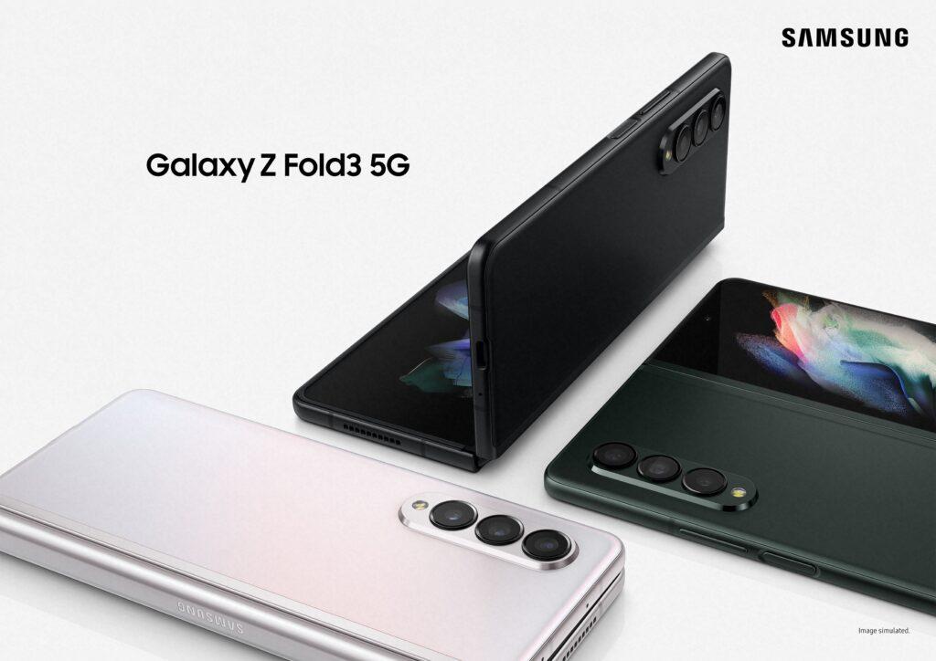 Galaxy z fold3 e galaxy z flip3 no samsung unpacked 2021