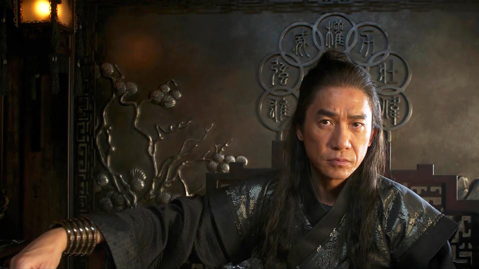 Mandarim no filme shang chi