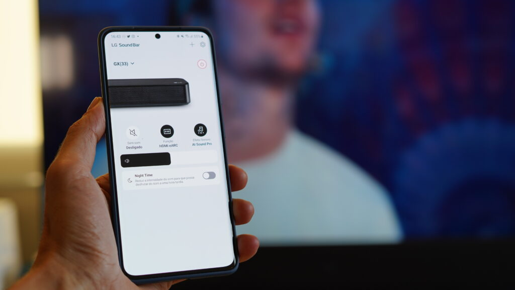 Soundbar lg gx eleva o topo da qualidade sonora premium. Com tecnologia meridian e inteligência artificial (ai), a gx representa o topo da linha de soundbars da lg. Confira o review.