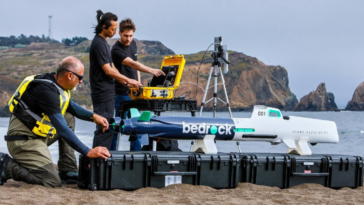 Mini-submarino autônomo da bedrock   showmetech trio