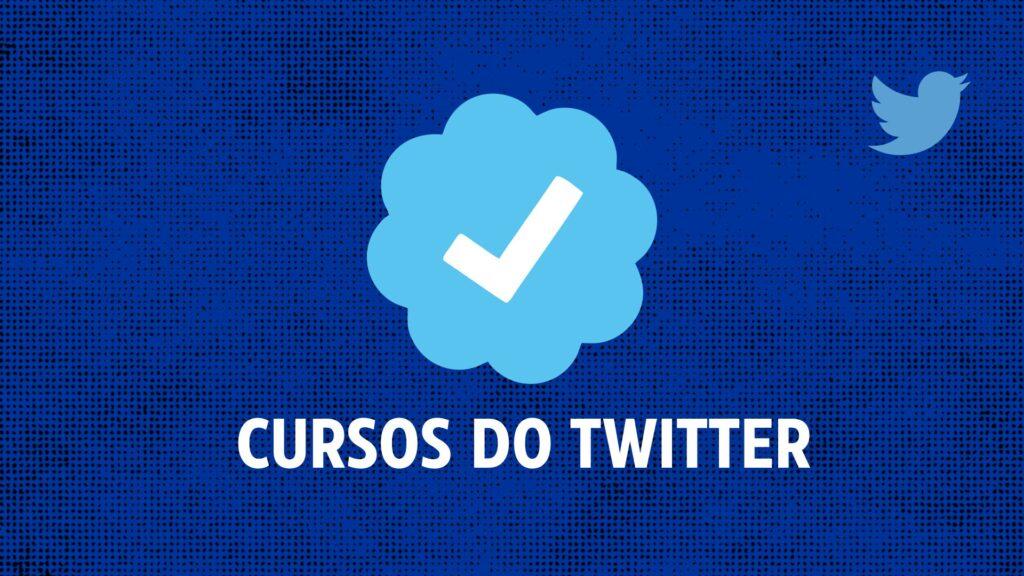 Cursos gratuitos do twitter