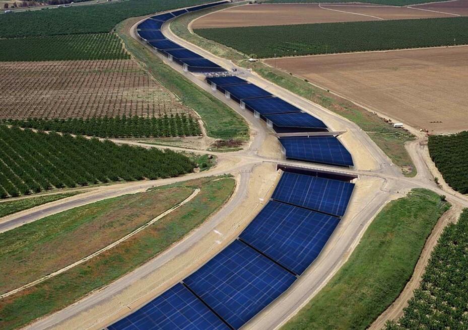 Painéis solares podem ajudar no problema da seca na califórnia