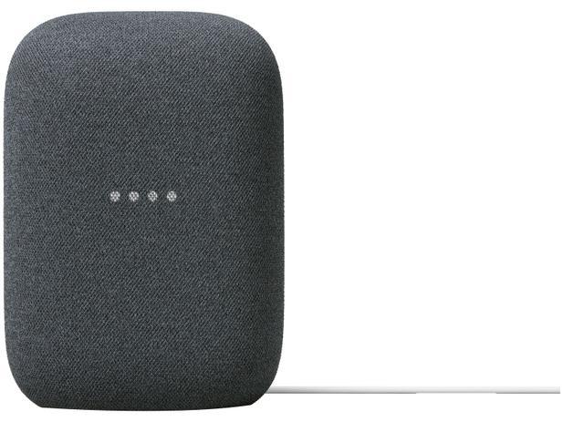 Google nest audio carvão casa conectada com o google assistente