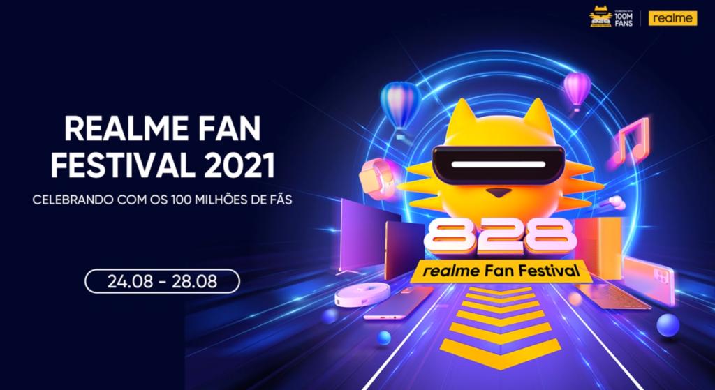 Evento realme fan festival 2021