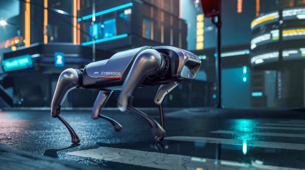 Conheça o cyberdog, cão-robô da xiaomi com código aberto