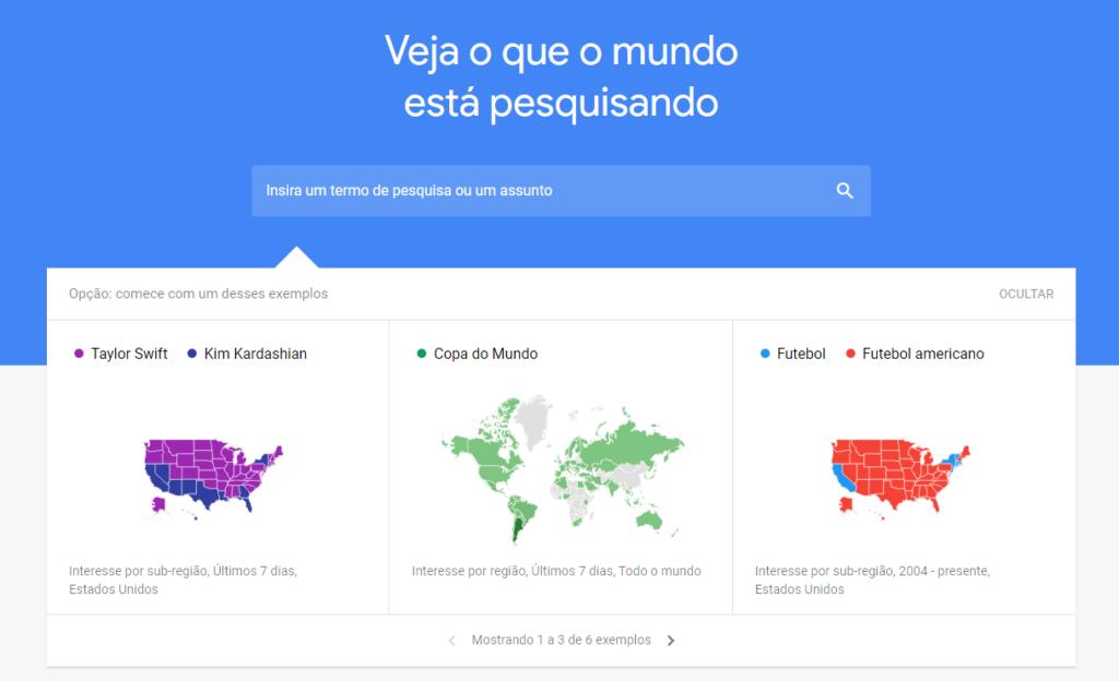 Dicas do google trends para saber as tendências do momento