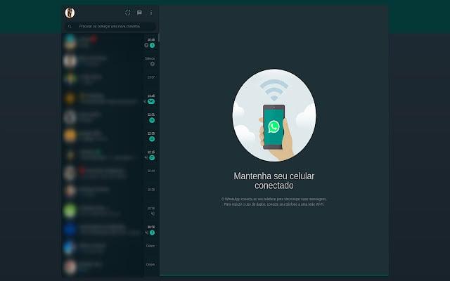 Whatsapp web dark mode - extensões no whatsapp web