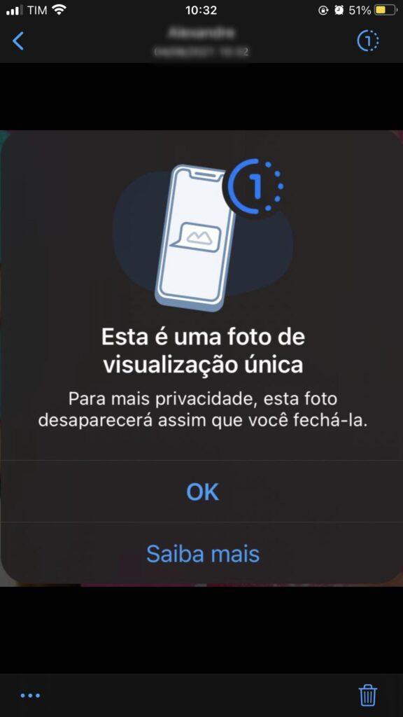 Como enviar fotos e vídeos que se apagam sozinhos no whatsapp