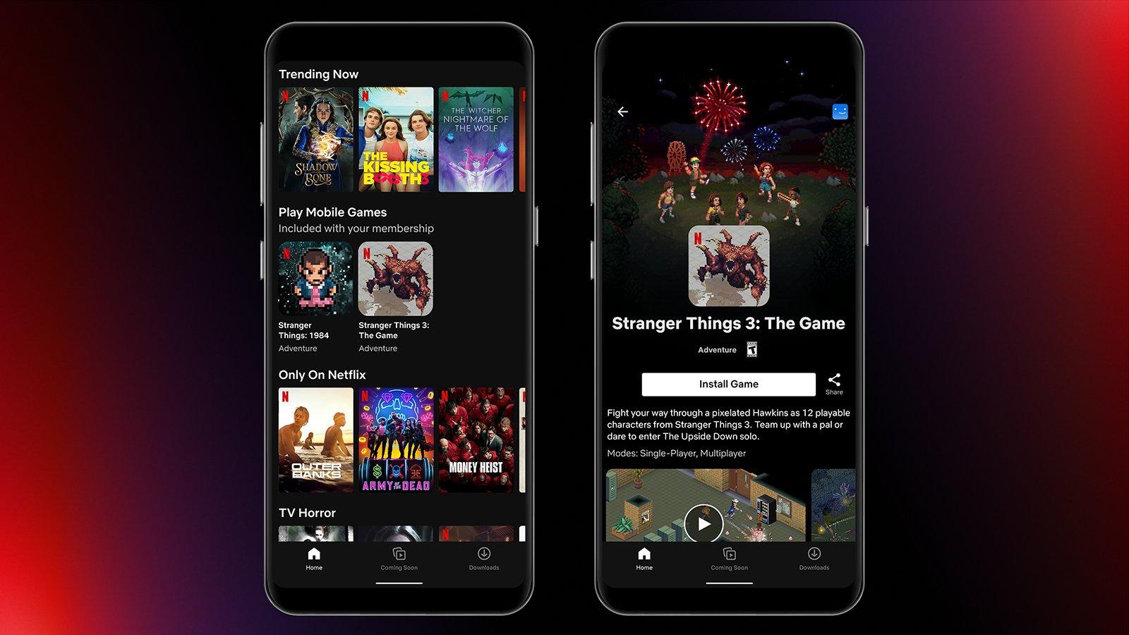 Netflix lança jogo gratuito de stranger things