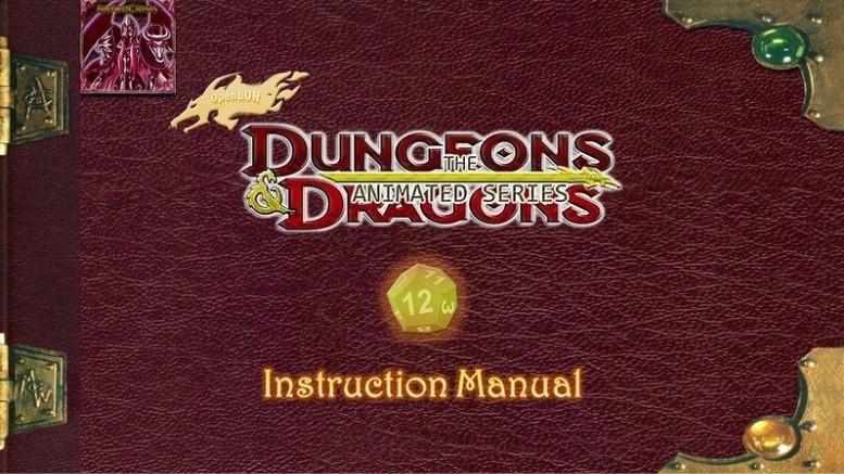 Manual do jogo de caverna do dragão
