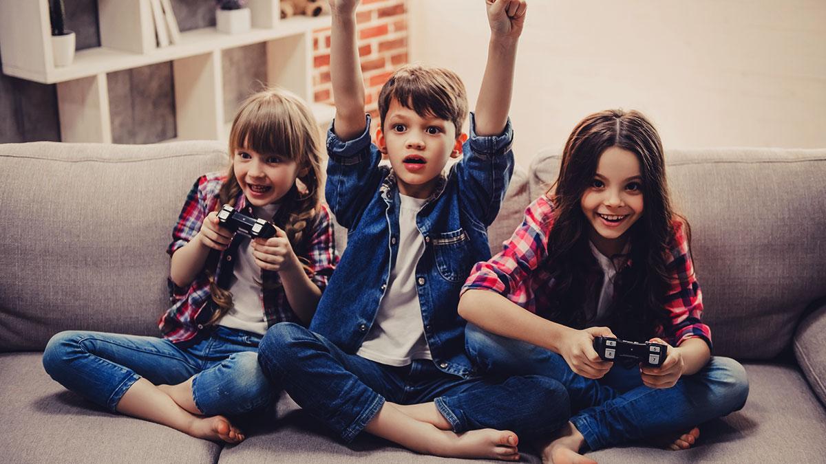 Jogos para crianças: riscos e benefícios