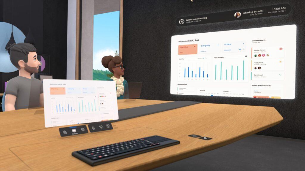 Horizon workrooms é o primeiro passo do metaverso do facebook