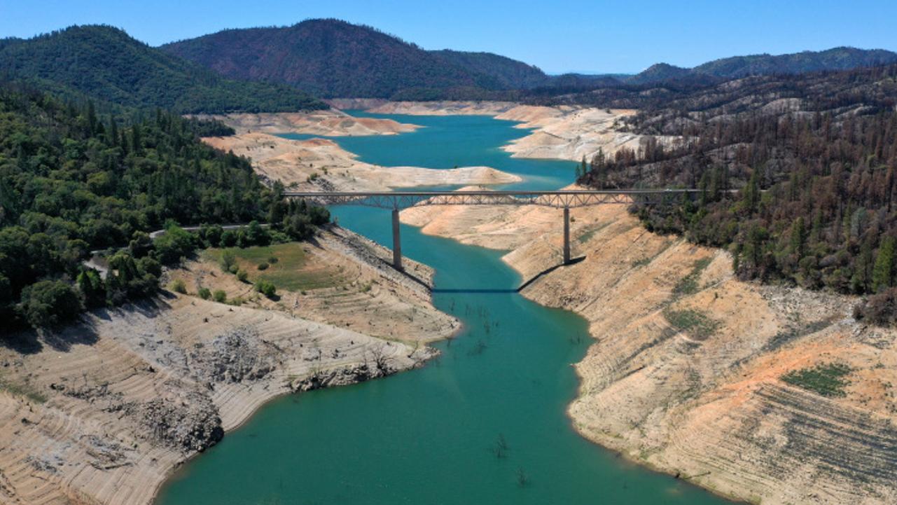 A grande seca na califórnia