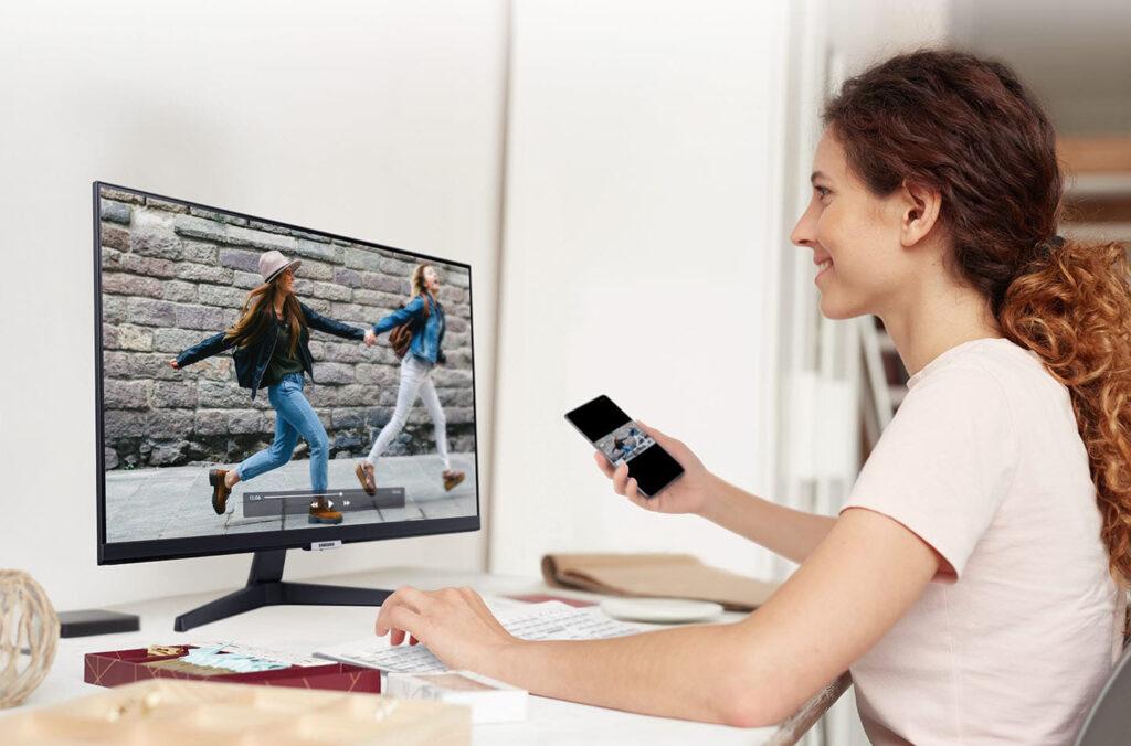 Smart monitor m5 é a solução da samsung para unir trabalho e entretenimento
