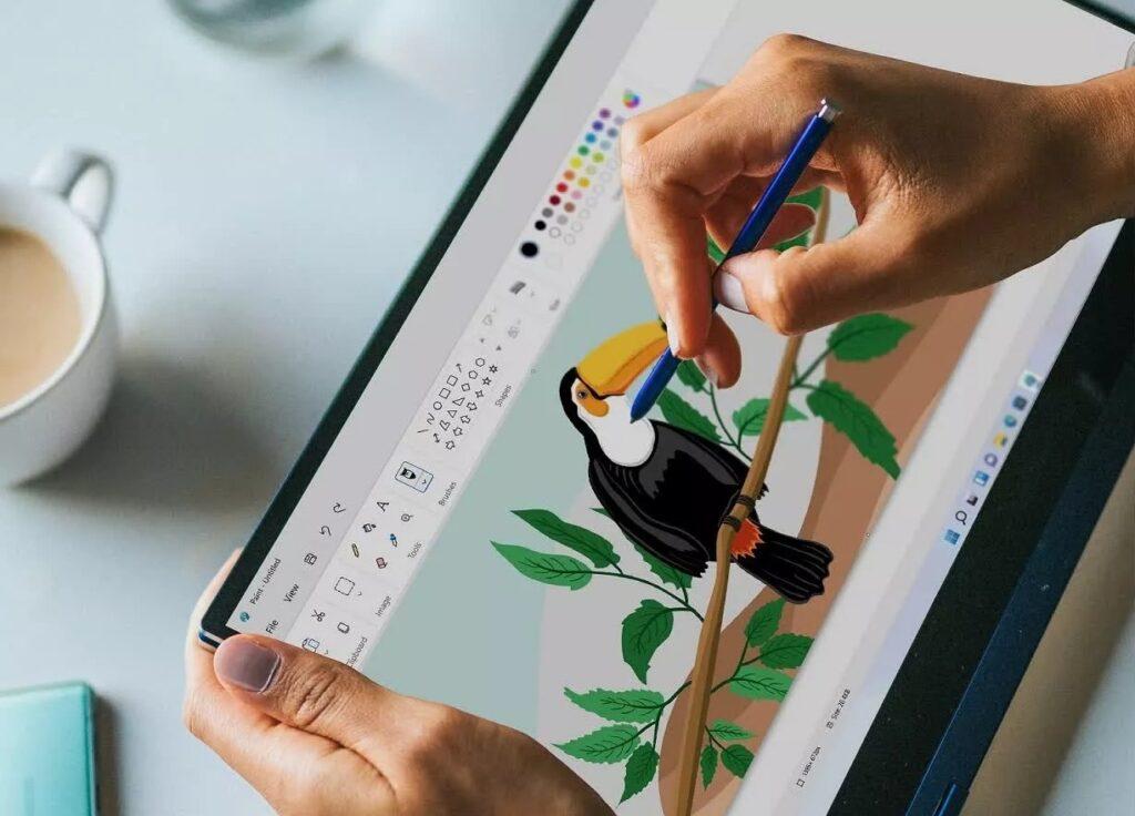 Fotos e paint para windows 11 aparecem com visual renovado