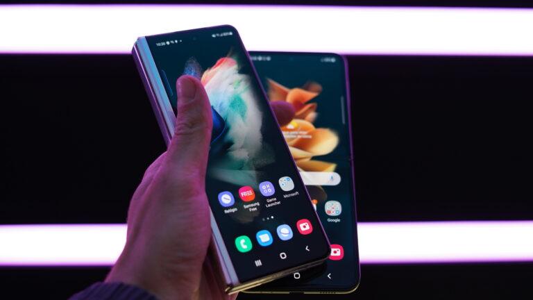 Cobertura sobre o Galaxy Z Fold3 e Galaxy Z Flip3