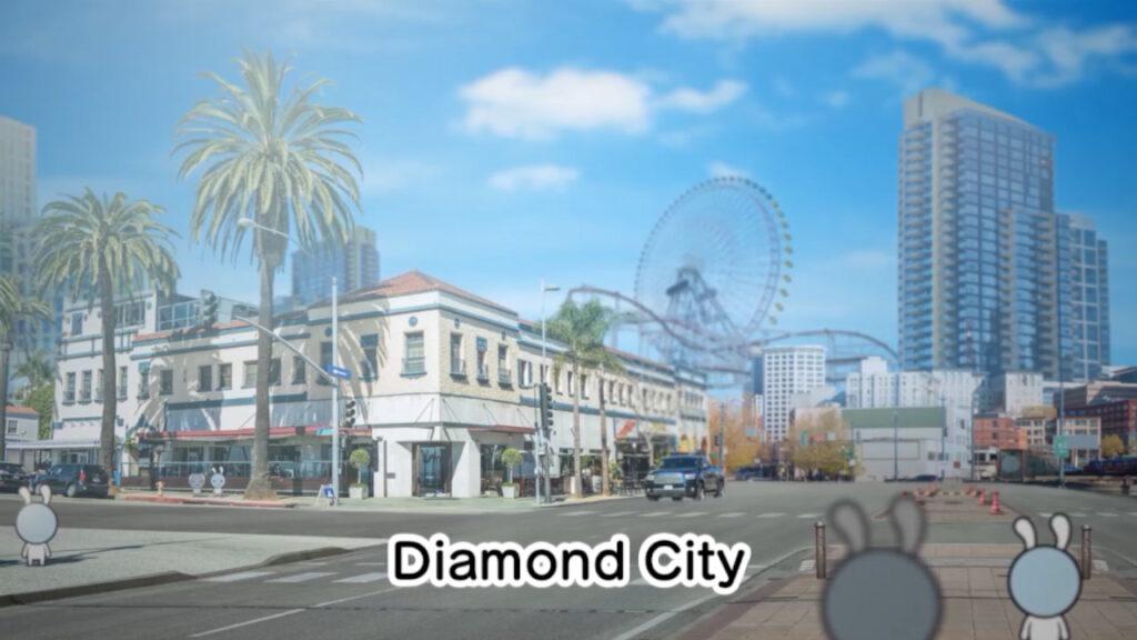 A linda diamond city - warioware: get it together!
