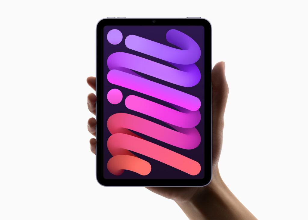 Confira o novo ipad mini, com 5g e processador a15 bionic