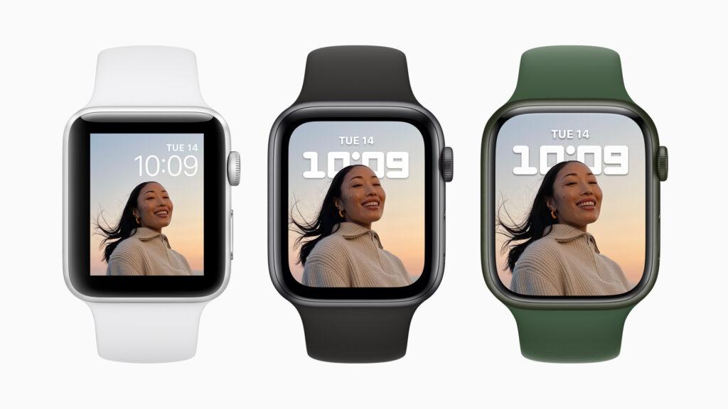 Apple watch 7 em detalhes