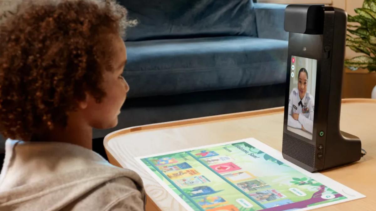 Amazon glow traz videochamadas e um projetor para crianças