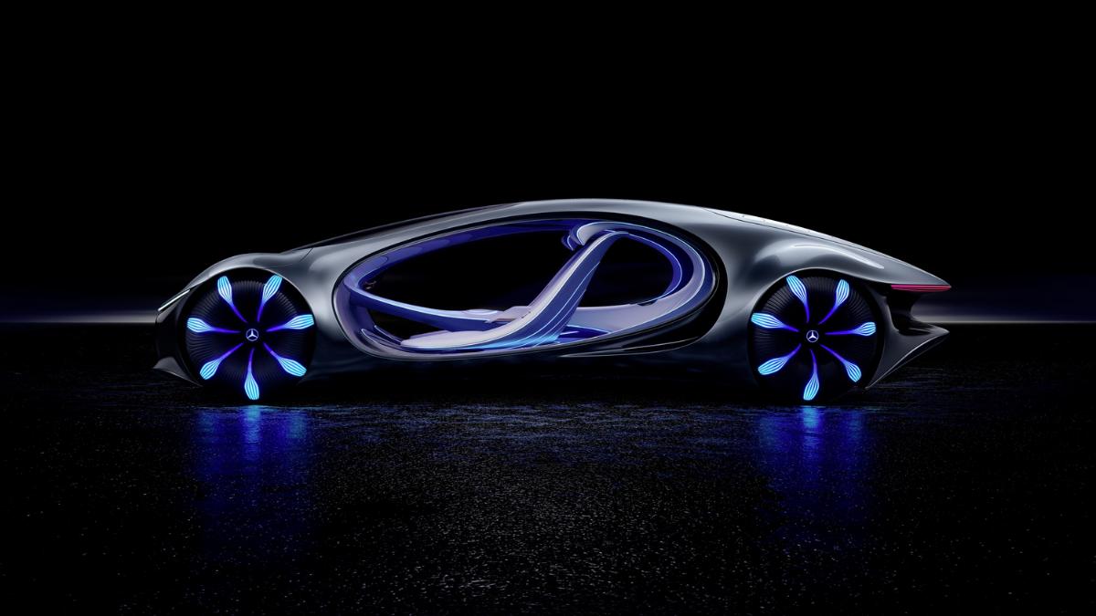 Vision avtr: carro conceito da mercedes é controlado pela mente