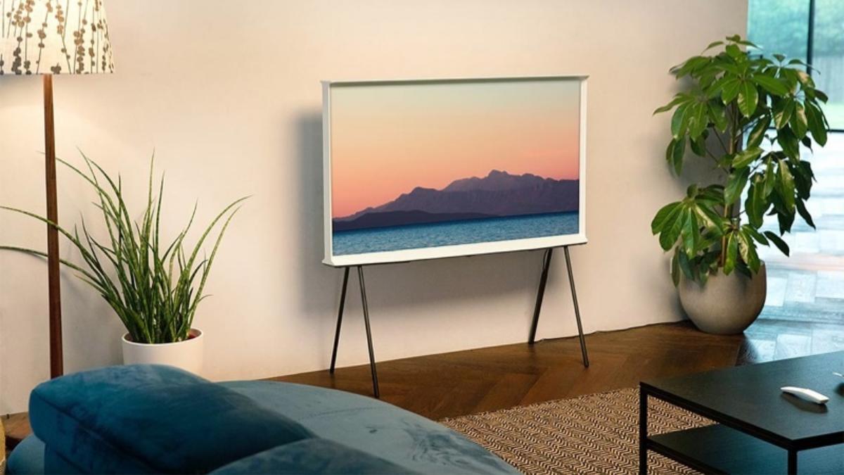 Decore sua casa com a the serif, a tv design da samsung