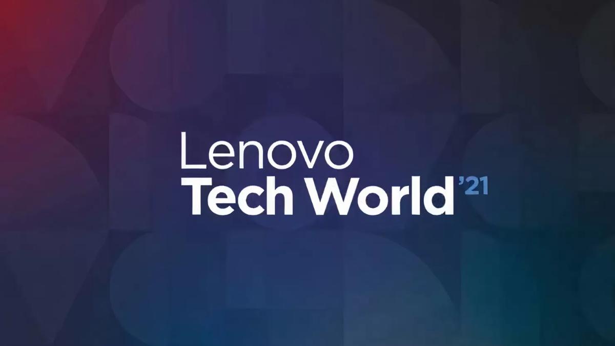 Logo lenovo tech world 2021