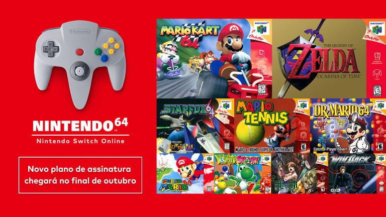 Nintendo switch online + pacote adicional - nintendo direct do dia 23