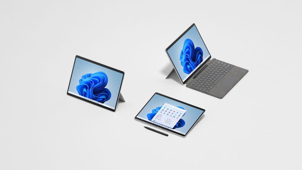 O surface pro 8 é um tablet 2 em 1 de alto desempenho