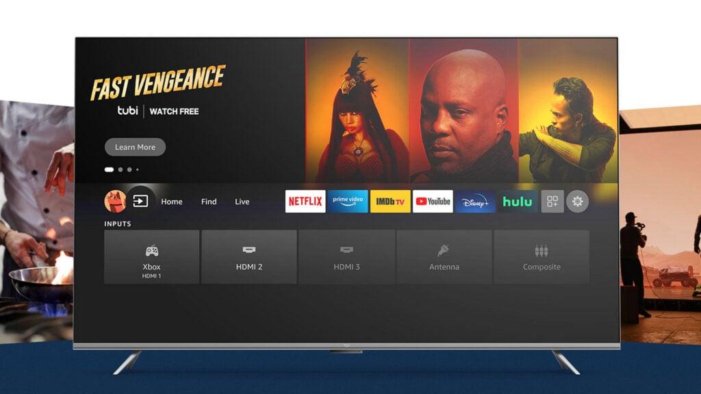 Tv da amazon, fire tv série omni, é anunciada oficialmente