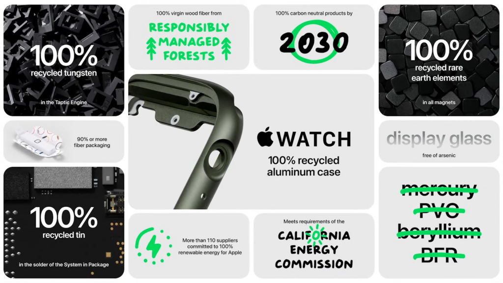 Apple watch series 7 traz mais resistência para esportes. Os destaques para o apple watch series 7 ficaram para as altas resistências a poeira e água, bem como as cinco novas cores, confira!
