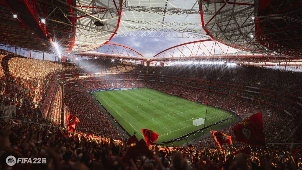 Estádio de fifa 22.