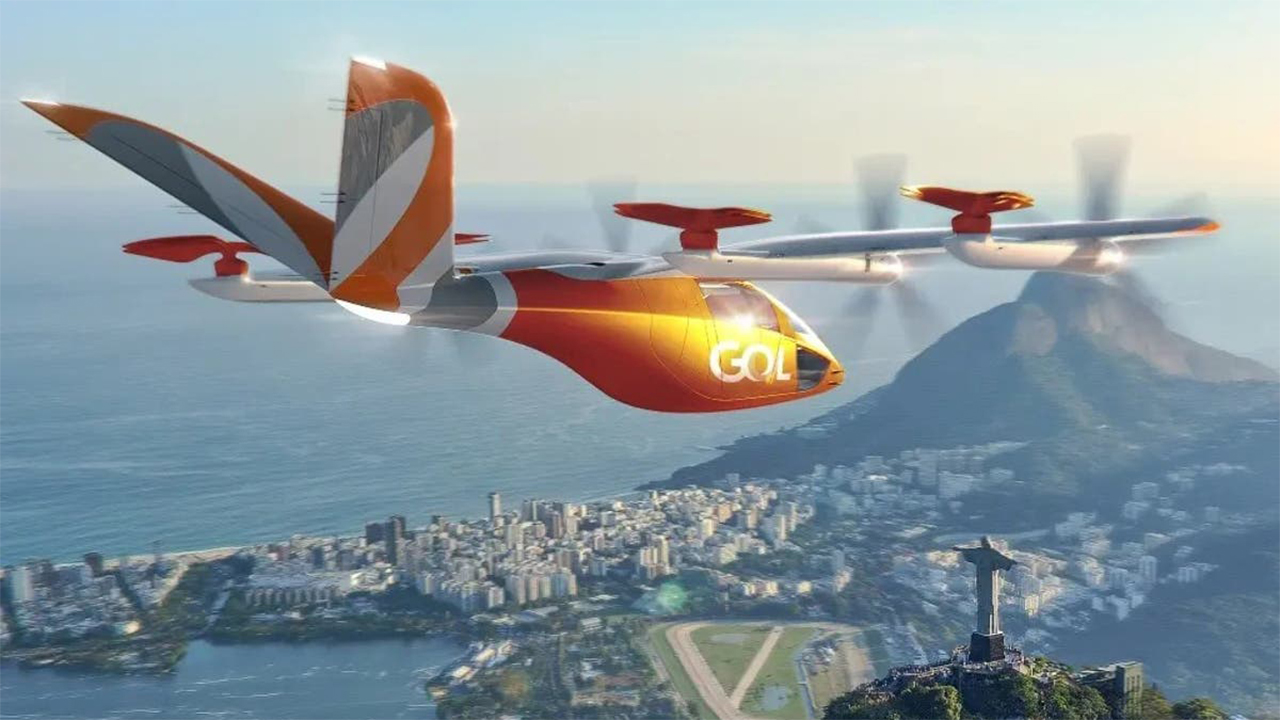 Gol compra 250 aeronaves elétricas para realizar voos comerciais no brasil