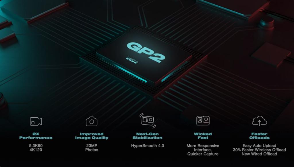 Hero10 black processador - gp 2