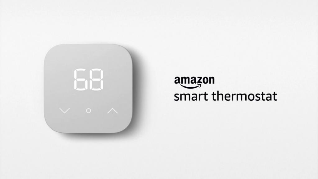 Amazon smart thermostat apresentado no evento de novos produtos da amazon