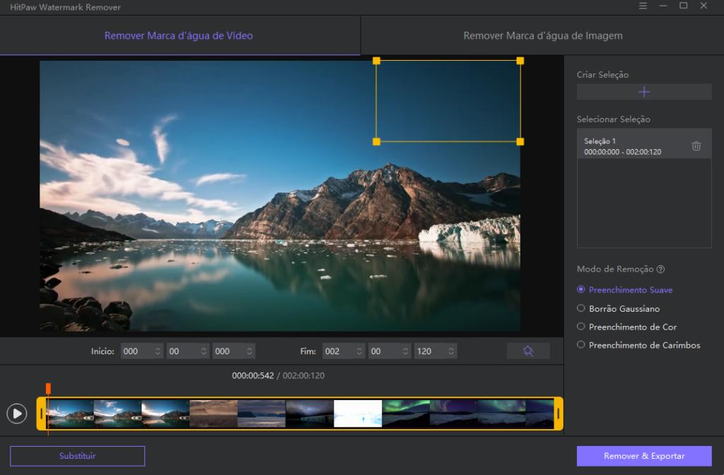 Como remover marca d'água de fotos e vídeos com o hitpaw