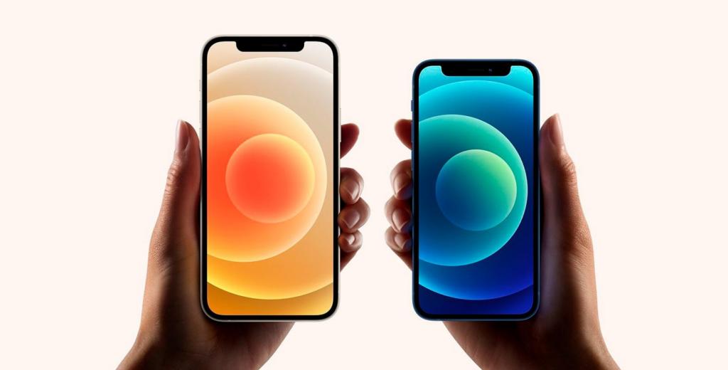 Iphone 12 tela