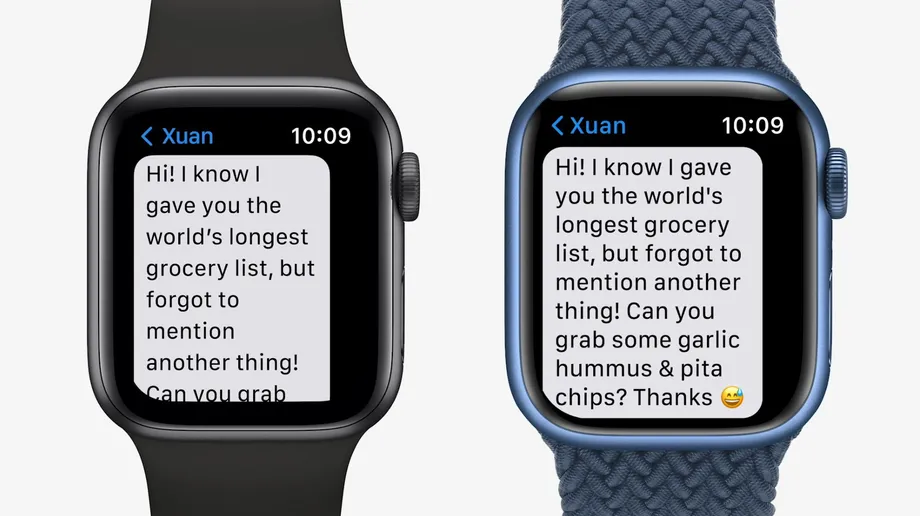 Apple watch series 6 x apple watch series 7