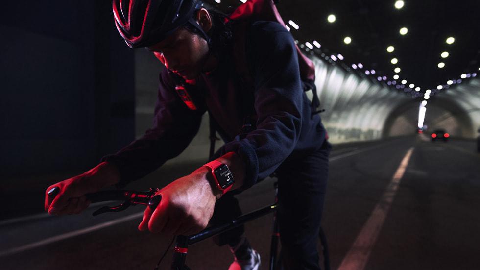 Apple watch series 7 - ciclistas