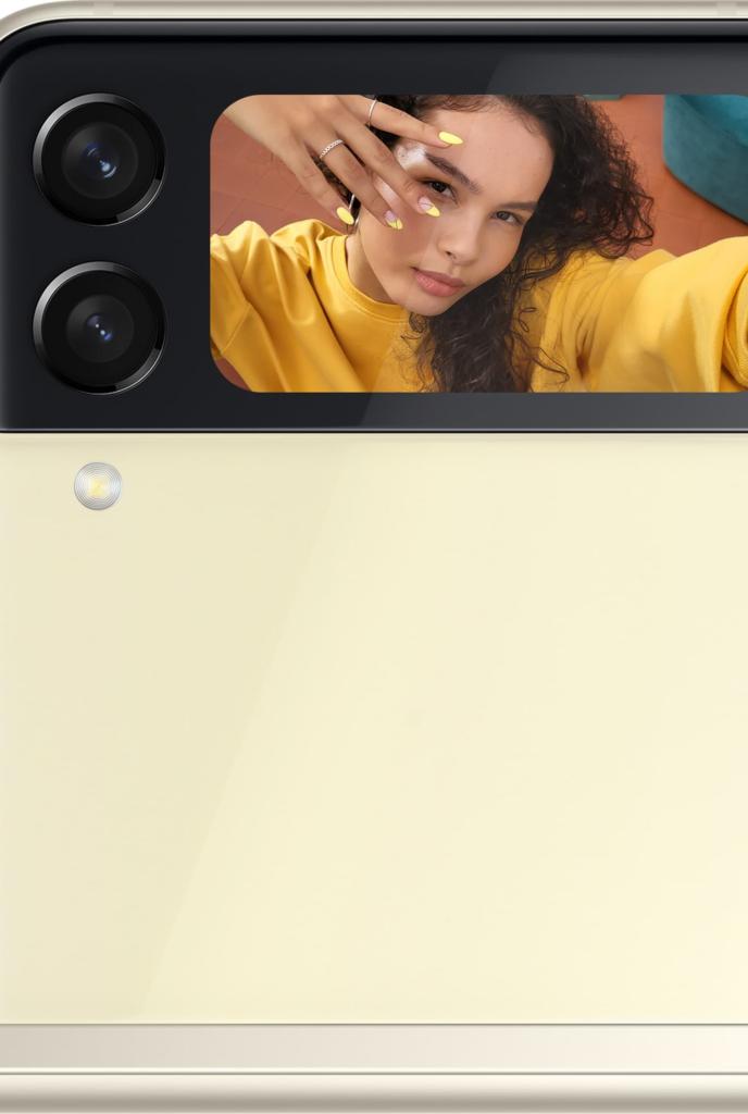 Selfie com o samsung galaxy z flip3 5g