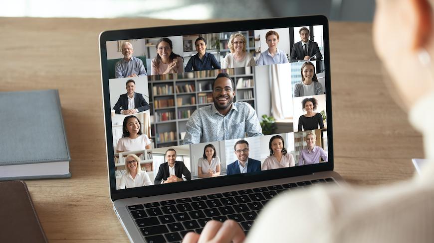 Reuniões online mais frequentes na pandemia