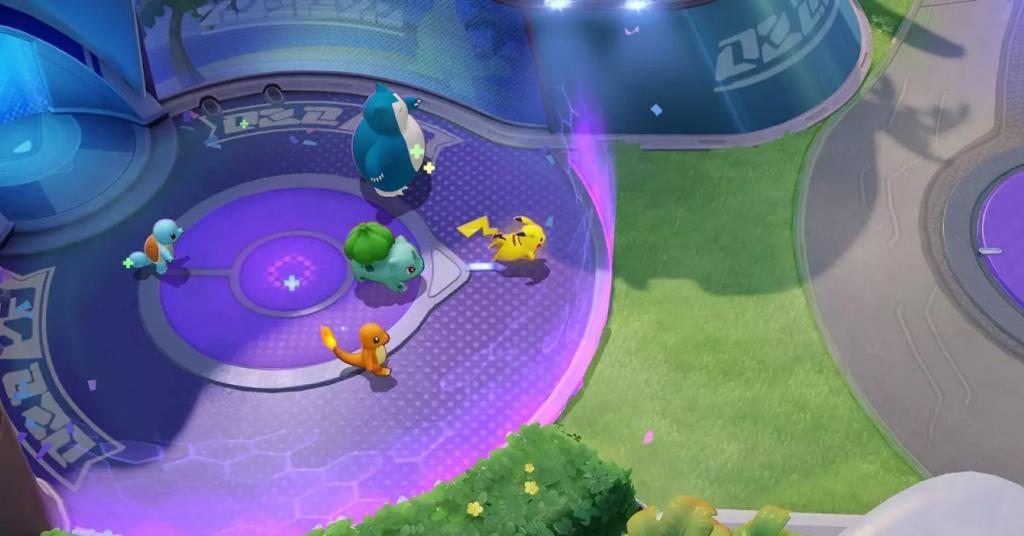 Como jogar pokémon unite: aguardando na base apra iniciar a partida