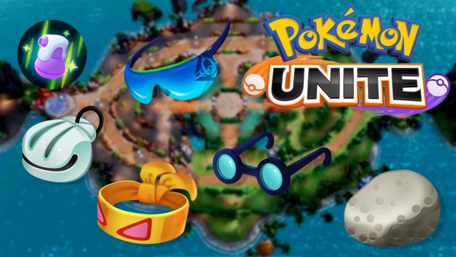 Como jogar pokémon unite: equipe itens, quando estiver disponível!