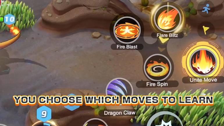 """Na legenda: """"escolha qual a melhor habilidade para aprender"""""""