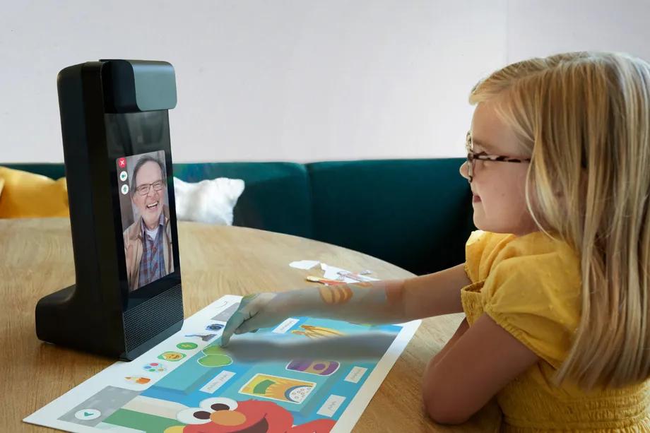 Amazon glow - videochamadas