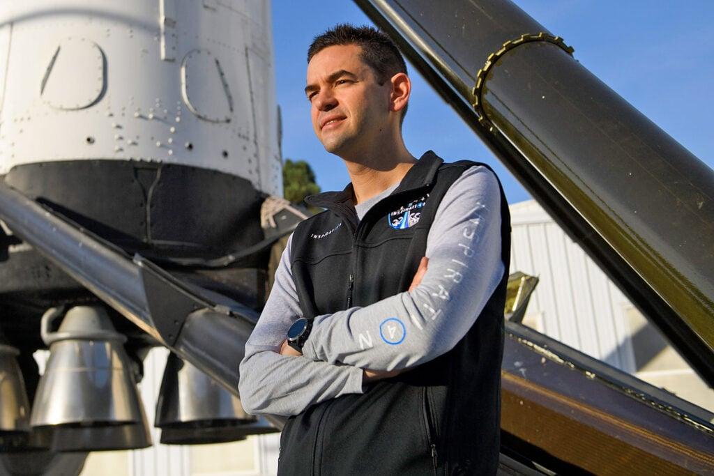 Jeremy isaacman, idealizador da missão inspiration4
