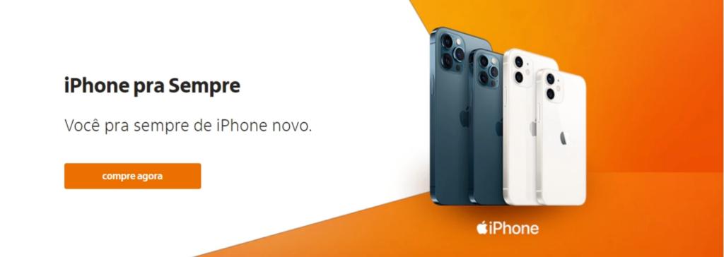 """Iphone pra sempre é um meio de conseguir o seu iphone de forma mais """"fácil"""", caso seja cliente itaú"""