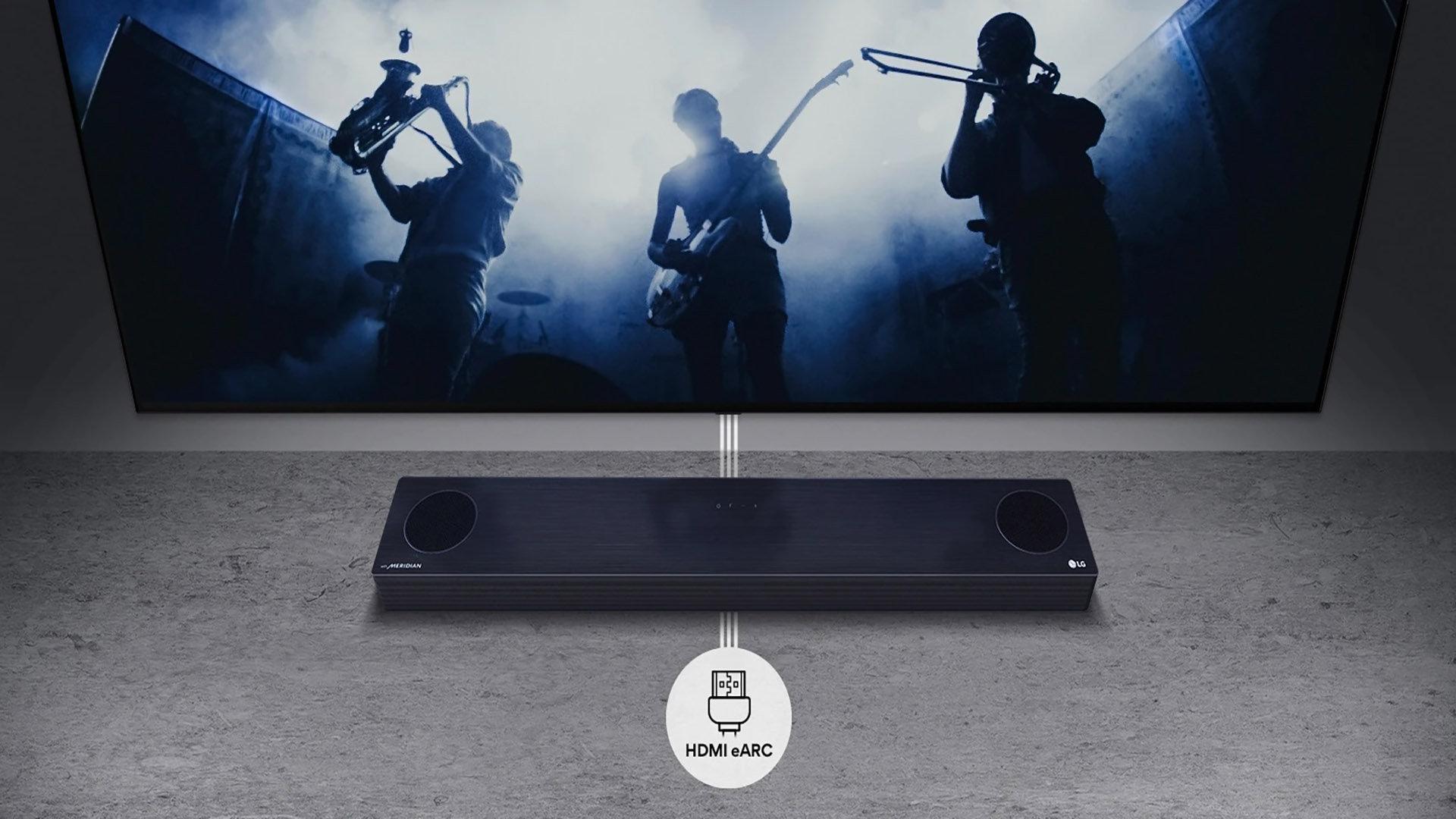 Lg lança soundbars sp8a e sp9a com inteligência artificial e design sustentável. As novas soundbars sp8a e sp9a da lg trazem diversas tecnologias que melhoram a percepção do som, além de serem totalmente recicláveis.